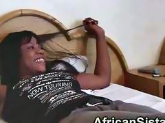 African vixens Alisha and Virgin are ready for some girl on girl action