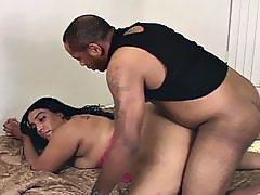 Devilish fat ebony charmer enticing huge black cock for fun