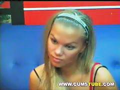 Absolutely Stunning Blonde Pussy on Webcam